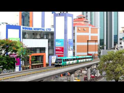 KOCHI METRO RAIL ANIMATION by Live Space Media