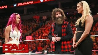 Raw Women's Champion Sasha Banks vs. Charlotte Flair Contract Signing: Raw, Oct. 24, 2016