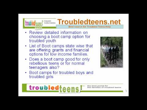 How to Find Best Boot Camps for Troubled Teens