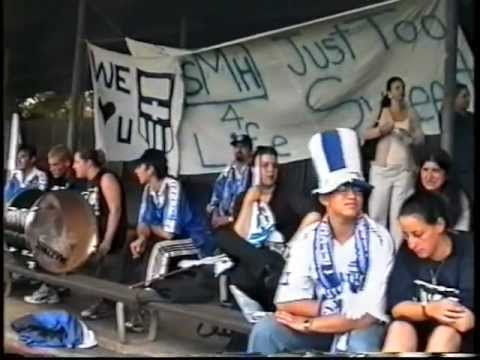 South Melbourne Hellas away to Sydney Olympic - 1998/99