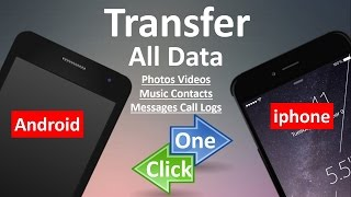 phone to phone transfer at one click, including Android, iOS, WindowsPhone ?