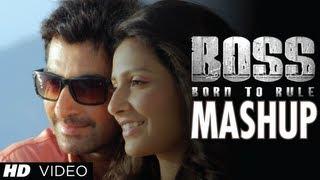 BOSS Mashup Video   Jeet & Subhasree   Blockbuster Bengali Movie 2013