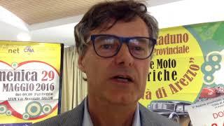 Le auto e moto d'epoca tornano sulle strade di Arezzo: al via l'ottavo raduno