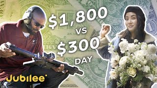 Earning $1,800 vs $300 in a Day: Guns & Roses