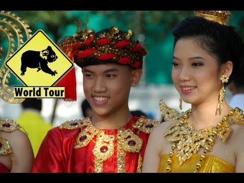 Thailande │Voyage Tour Du Monde ► Bangkok, Party et Danse HD