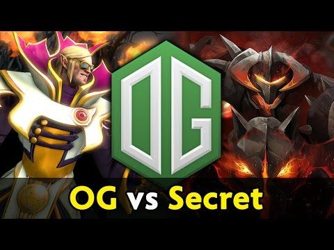 Godlike Invoker + carry Chaos Knight — OG vs Secret