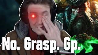 Hashinshin talking about DUMB Grasp Gangplank and Bruiser Items. (ft. Clownteam)