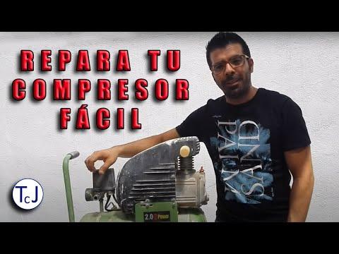 Compresor de aire:como reparar un compresor de aire.How to repair compressor