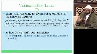 [1/2] Etiquette of Ziyarat (Visitation) - Sheikh Jaffer H. Jaffer - 6th Rabi al-Thani 1440