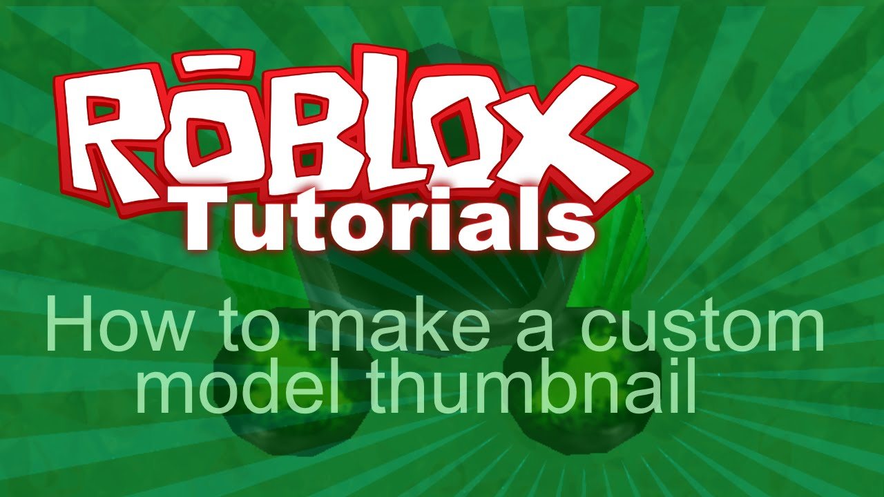 how to create models in roblox