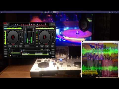 Virtual DJ 7.4  2014 Rayito Colombiano Mix. 1era. Parte.Para Romanticos y Fanaticos
