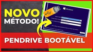 Como criar pendrive bootável Windows vista 7/8/8.1 atualizado ( Formatar pc com pendrive )