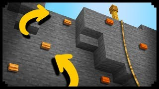 ✔ Minecraft: How to make a Climbing Wall