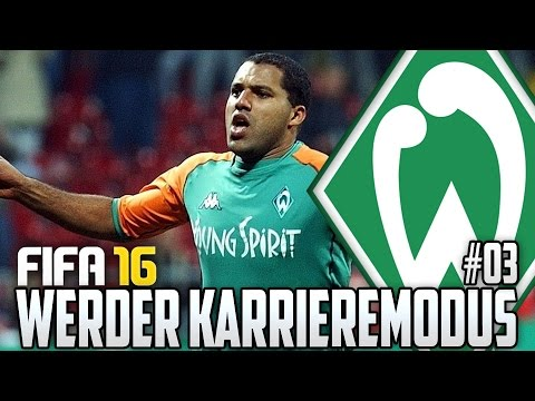 FIFA 16 KARRIEREMODUS #03 - WIR BRAUCHEN KUGELBLITZ AILTON! - FIFA 16 Karriere Werder Bremen