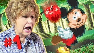 Moms Play MICKEY'S WORLD OF ILLUSION! - PART 1