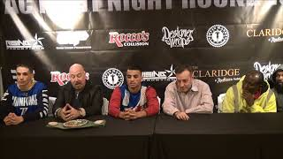 Rising Promotions Press Conference November 16, 2017