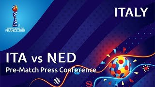 ITA v. NED - Italy Pre-Match Press Conference