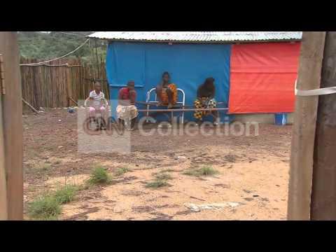 LIBERIA: DESPERATE TIMES IN EBOLA-STRICKEN COUNTRY