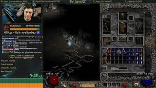 Diablo 2 - POISON DAGGER SPEEDRUN - WAT