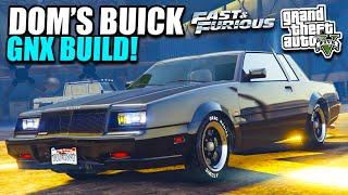 GTA 5 - Fast & Furious Buick GNX Build/Drive - New DR!FT Art/Logo, ITunes Binge & More!