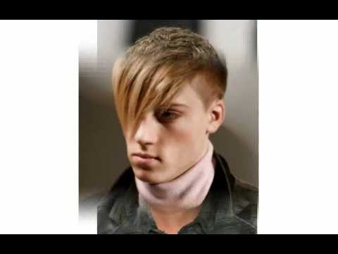 Mens Short Hair with Bangs