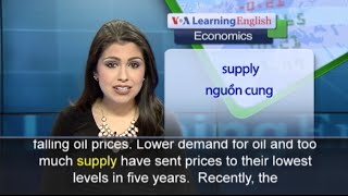 Anh ngữ đặc biệt: World Oil Prices