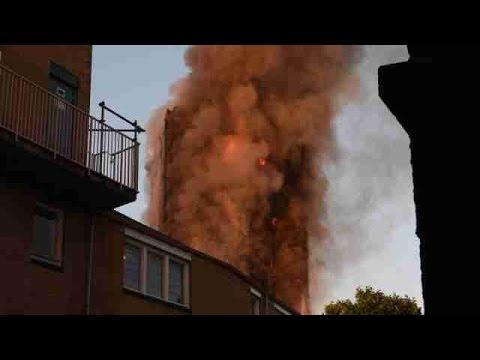 Al menos 6 muertos confirmados en el incendio de un edificio de Londres