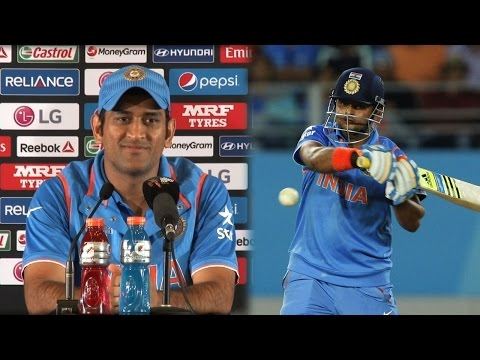 2015 WC: What Dhoni thinks about Suresh Raina ?