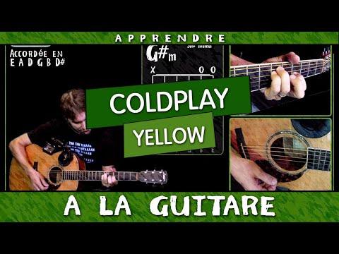 Apprendre Yellow de Coldplay à la guitare