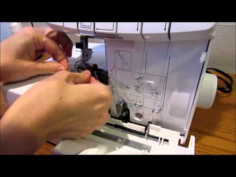 Serger 101 Threading the Brother 1034d Machine by Create Kids Couture
