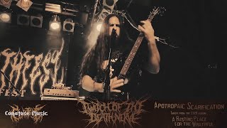 TWITCH OF THE DEATH NERVE - APOTROPAIC SCARIFICATION [OFFICIAL LIVE VIDEO] (2020) SW EXCLUSIVE