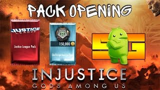PackOpening в игре Injustice (Android) Классные Персы