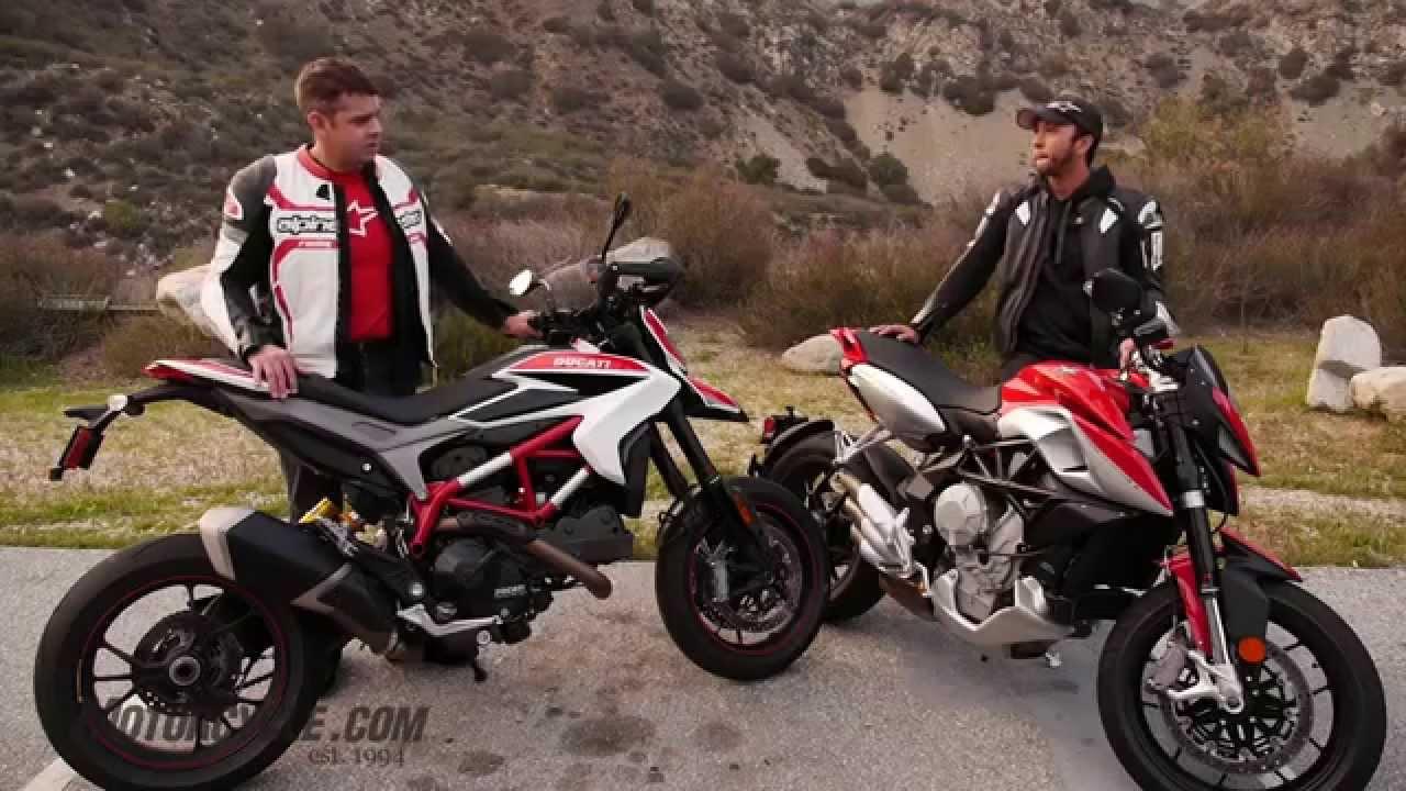 Ducati Hypermotard  Vs