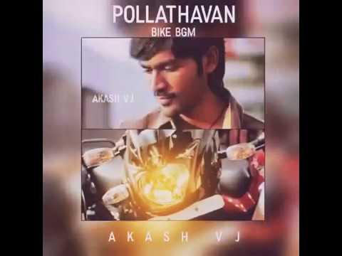 Pollathavan bike bgm