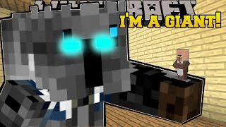 Minecraft I AM A GIANT!! - A GIANT QUEST - Custom Map