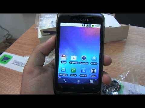Alcatel OT-991  review HD ( in ROmana ) - www.TelefonulTau.eu -