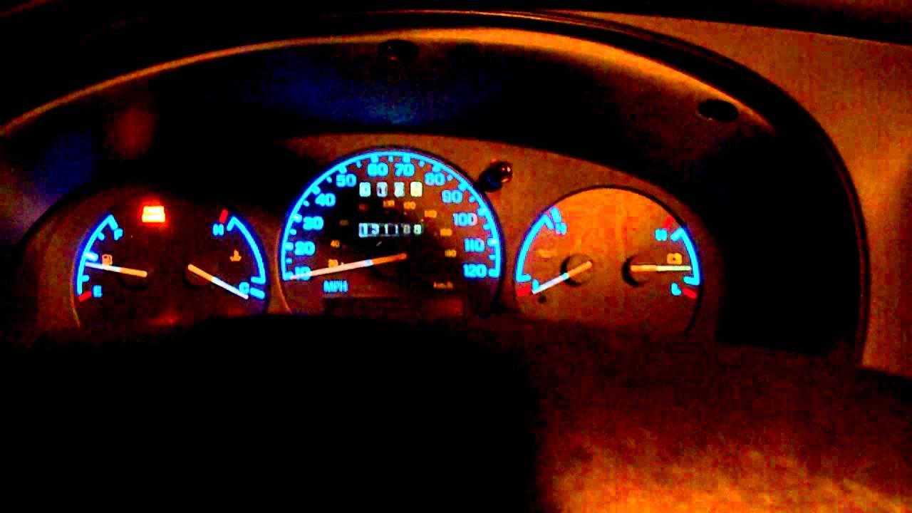 1997 Ford Ranger Interior Led Swap Youtube