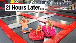Last Family Member To Leave World's Largest Trampoline Park Wins $1000