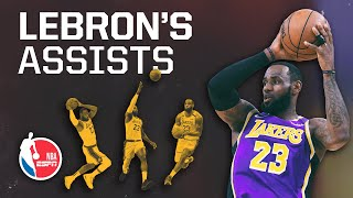 LeBron James' assists fuel the Lakers' entire offense — especially Anthony Davis | Signature Shots