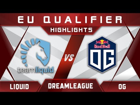 Liquid vs OG DreamLeague Major 2017 EU Highlights Dota 2
