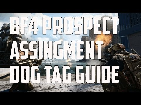 Battlefield 4 Phantom Prospect Assignment and Dog Tag