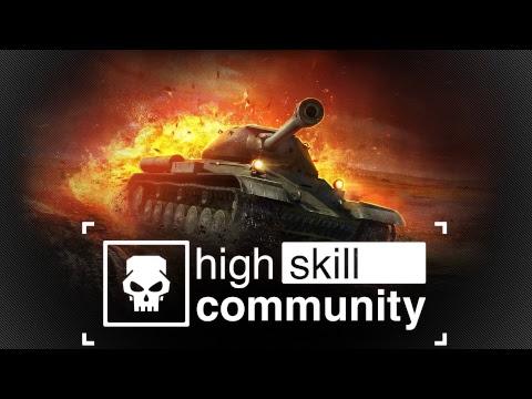 Об.907. Игра на урон. High Skill Community stream. (ТОП3 по WN8)