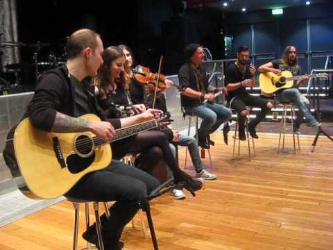 Eluveitie VIP Sydney May 2016 - accoustic set