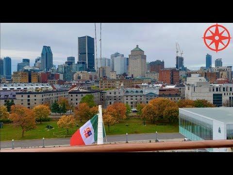 AIDAdiva in Montréal - Vieux-Montréal und Innenstadt + Treffen mit David /InternationalPax TV