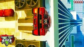 GTA 5 PS4 - Big Loop to Wallride RAGE Race!! Insane Stunt Race Makes Me CRAZY (GTA 5 Funny Moments)