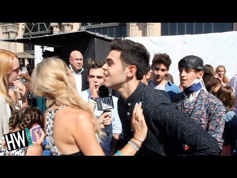 The Janoskians Talk Getting Evicted & New 'Cheeky' Song!! (TEEN CHOICE 2014)