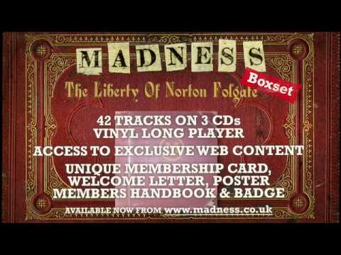 Madness - The Liberty Of Norton Folgate - Special Edition 12inch and CD Boxed Set