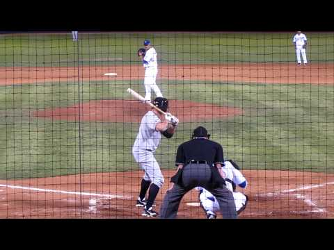 AAA Salt Lake Bee's Peter Bourjos Tripple vs. The Las Vegas 51's April 9th 2010 Video