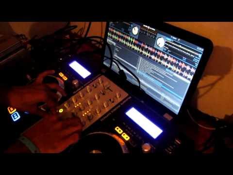 mixdeck express - using sample deck