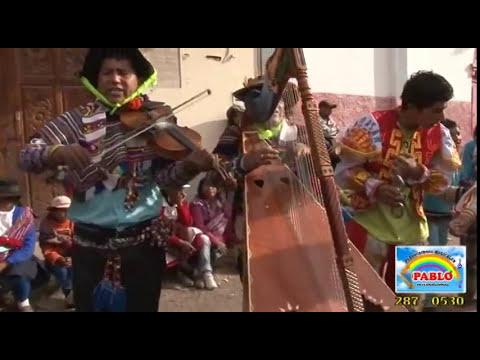 DANZA DE LAS TIJERAS EN PARIA - AURAHUA 2013 (Parte 02)